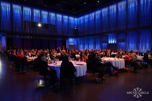 Floor at Harpa during HKS breakout session