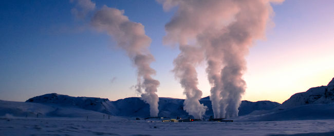 Geothermal winter